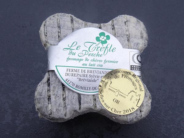 fromage de chevre fermier trefle breviande